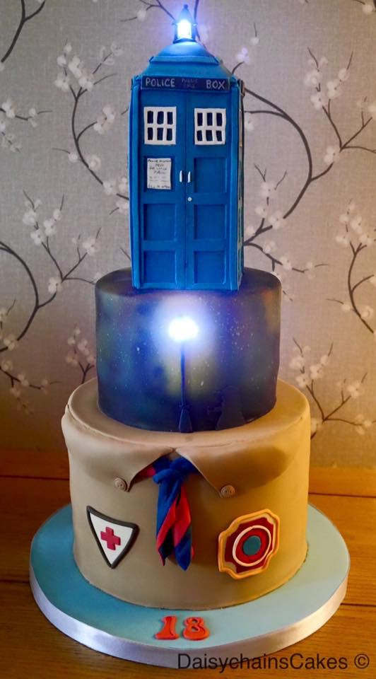 Dr Who/Scout Birthday Cake